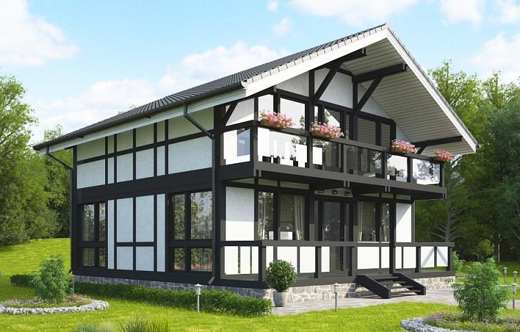 Проект фахверкового дома скачать pdf
