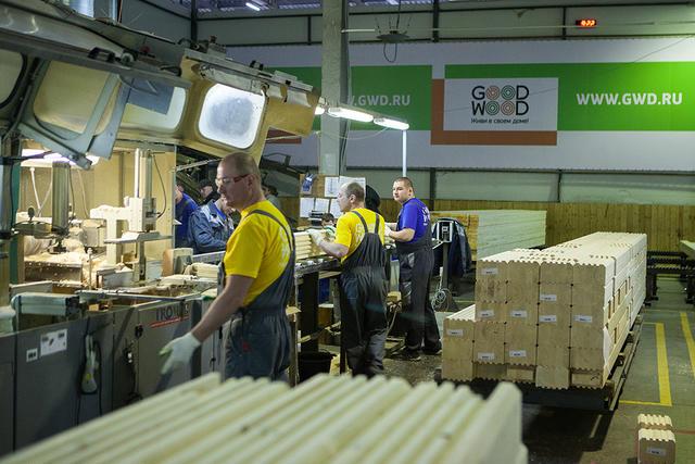 Производство клееного бруса GOOD WOOD открыто для посещения