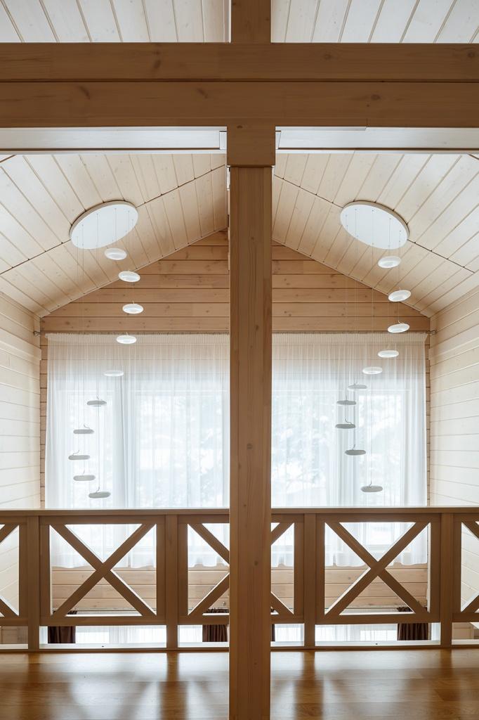 Так можно ли строить деревянные дома с панорамным остеклением 2