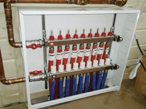 Водоснабжение, отопление и вентиляция