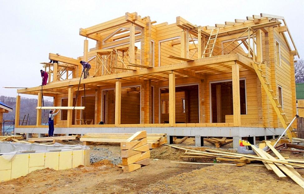 Строительство домов из клееного бруса - Фото 1